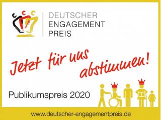 Chance auf Deutschen Engagementpreis