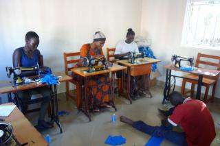 Corona-Prävention für die Schulen in den Flüchtlingscamps in Adjumani